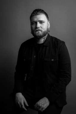 Brett Drouin men's hair stylist